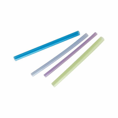 Colored nylon tubes for electronic components